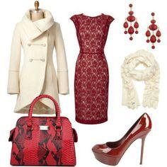 @Tamara Walker Ranalli lace overlay dress…and color
