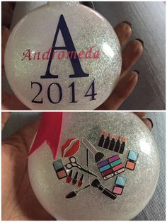 DIY ornament by me! For a hairstylist.