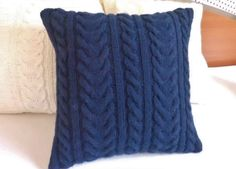 Hey, I found this really awesome Etsy listing at https://www.etsy.com/listing/125860030/custom-navy-blue-knit-pillow-cover-throw