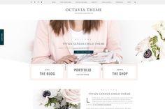 AD Octavia Theme - Portfolio WordPress Theme - eCommerce WordPress Theme - Genesis WordPress theme