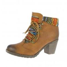 Buy Rieker Caledonia Heeled Lace Up Boot online today at Next ... ef936e5b3e