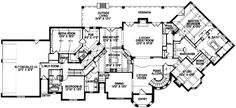 French Country Opulence - 15302HN | 1st Floor Master Suite, Butler Walk-in Pantry, Corner Lot, Den-Office-Library-Study, European, French Country, In-Law Suite, Jack & Jill Bath, Luxury, Media-Game-Home Theater, Multi Stairs to 2nd Floor, PDF, Traditional | Architectural Designs