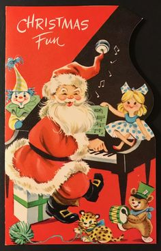 From little Edward Orear Christmas Tree Scent, Old Fashioned Christmas, Christmas Past, Father Christmas, Xmas, Vintage Christmas Images, Retro Christmas, Vintage Holiday, Vintage Images