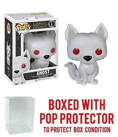 Dire situations call for a direwolf. Keep John Snows canine companion by your side at all times with the Game of Thrones Pop! The small vinyl figurine features the stark whi. Great Christmas Gifts, Christmas Toys, Game Of Thrones Ghost, Ghost Box, John Snow, Pop Box, Boxing Conditioning, Dire Wolf, Vinyl Figures