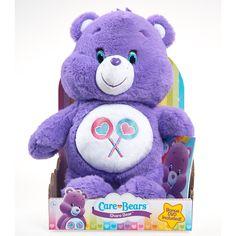 Care Bear Medium Plush with DVD - Share Bear   ToysRUs