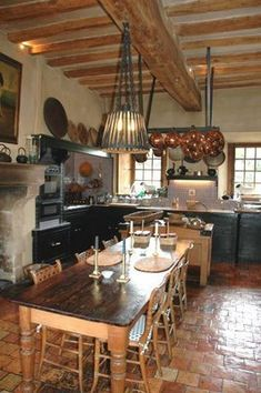 country kitchen . . .