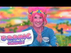 A yoga adventure based on the movie, Trolls. Join Jaime on an adventure in yoga poses - as we help the Trolls bring happiness to the world! Preschool Songs, Kids Songs, Learning Stations, Kids Learning, Learning Spanish, Movement Songs, Yoga Video, Yoga Youtube, Yoga Music