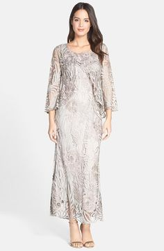 Free shipping and returns on Soulmates 3-Piece Crochet Skirt Set at Nordstrom.com. A handmade silk-crochet ensemble features a scoop-neck shell, a sheer three-quarter-sleeve jacket and an elastic-waist A-line skirt, all accented with silvery bugle beads.