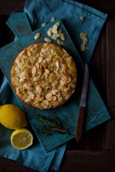 Lemon Rosemary Ricotta Olive Oil Cake from Ricotta Cake, Olive Oil Cake, Food Scale, Sweet Tarts, Pastry Cake, Just Desserts, Romantic Desserts, Lemon Desserts, Let Them Eat Cake