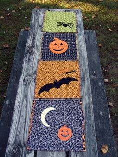 Halloween Table Toppers | Quilting Patterns| | YouCanMakeThis.com