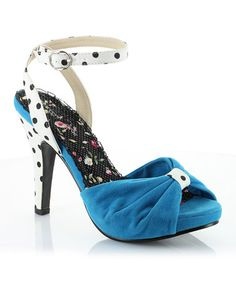 Another great find on #zulily! Turquoise Eleanor Pump #zulilyfinds