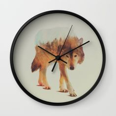 Buy Wolf In The Woods #2 Wall Clock by Andreas Lie. Worldwide shipping available at Society6.com. Just one of millions of high quality products available.