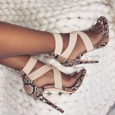 Eilyken Stretch Fabric Women Sandals Gladiator Ankle-Wrap High Heels Shoes Fashion Summer Ladies Party Pumps Shoes Black Apricot – Fashion For Womens Lace Up Heels, High Heels Stilettos, Stiletto Heels, Snakeskin Heels, Leopard Shoes, Sexy High Heels, Pump Shoes, Shoe Boots, Designer Shoes