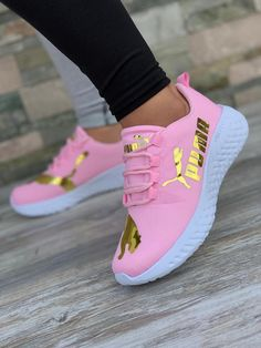 Avia Men's Back Cage Athletic Sneaker is part of Puma shoes women - Puma Shoes Women, Puma Tennis Shoes, Nike Air Shoes, Pink Puma Shoes, Cute Sneakers For Women, Pink Pumas, Ladies Sneakers, Pumas Shoes, Women's Shoes