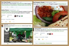 A selection of our most favourite twitter reviews.