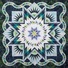 Glacier Star ~ Quiltworx.com, made by CI Lea Marty