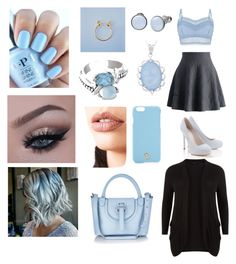 """""""Date"""" by hallie-bray on Polyvore featuring Chicwish, Lipsy, Skagen, Kabella Jewelry, Eclectic Eccentricity, Natures Jewelry, New Look, Tory Burch, Lime Crime and Meli Melo"""