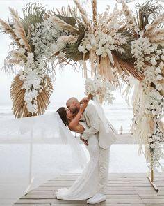 Boho Beach Wedding, Bali Wedding, Floral Wedding, Wedding Colors, Dream Wedding, Bohemian Wedding Theme, Destination Wedding, Bohemian Wedding Decorations, Bohemian Weddings
