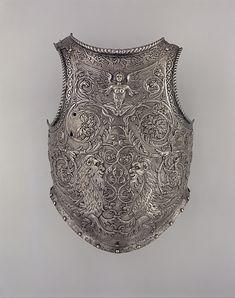Breastplate                                             Giovan Paolo Negroli              (Italian, Milan, ca. 1513–1569)                                                                                                                  Date:                                        ca. 1540–45                                                          Culture:                                        Italian, Milan