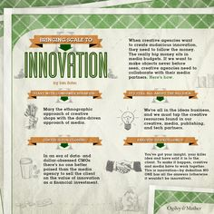 Bringing Scale to Innovation #Infographic