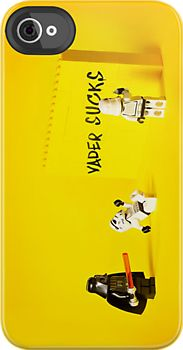 Star Wars - Funny Darth Vader Sucks - iphone 4 4s, iPhone 3Gs, iPod Touch 4g case by Pointsale store