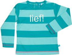Gestreept lange mouwen shirt voor meisjes, 2014 | Striped shirt with long sleeves for girls, 2014