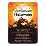 Spooktacular Halloween Costume Party Invitation #halloween #happyhalloween #halloweenparty #halloweenmakeup #halloweencostume