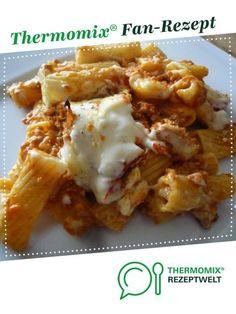 Nudelauflauf al forno von Erlebniskochen.Soest. Ein Thermomix ® Rezept aus der Kategorie Hauptgerichte mit Fleisch auf www.rezeptwelt.de, der Thermomix ® Community.