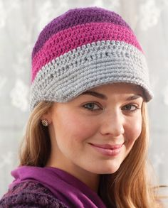 Free Pattern Latitude Hat   crochet today