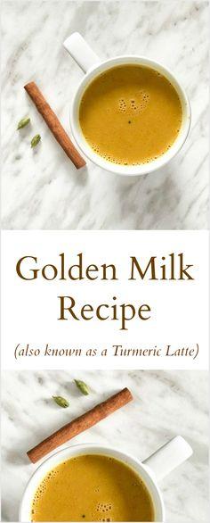 Golden Milk recipe (aka Turmeric Latte)