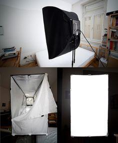 Working DIY Softbox by Eenimon, via Flickr
