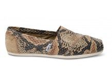 TOMS+ Serpentine Leather Women's Classics #toms    FOR MY BIRTHDAY!