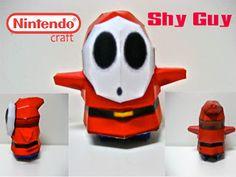 Shy Guy 2 | Nintendo Papercraft