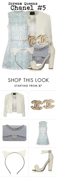 """""""Scream Queens- Chanel #5"""" by darcy-watson ❤ liked on Polyvore featuring Dorothy Perkins, Chanel, Charlotte Russe and Topshop"""