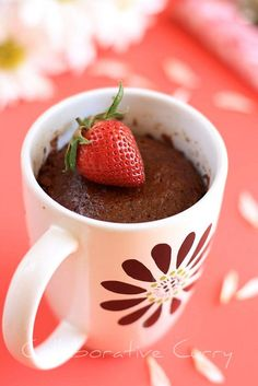 this really works! And super cute (and slightly better) if you do it in a ramekin, sift a little powdered sugar over it, and serve to guests!