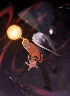 Naruto And Sasuke || 2 Rival || Combo
