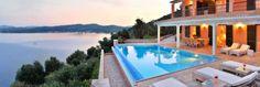 Welcome to #Villa Domina!  #Corfu #Greece #LuxuryVilla  Photo (C) Menelaos Sykovelis