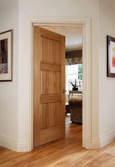 Orta Wenge - contemporary style door for modern homes Contemporary Cottage, Contemporary Style, Cottage Door, Door Design Interior, Timber Door, Traditional Doors, Modern Door, Oak Doors, Single Doors