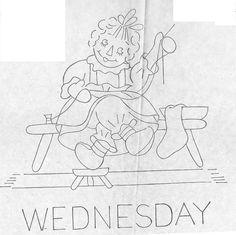Raggedy Ann-Wednesday