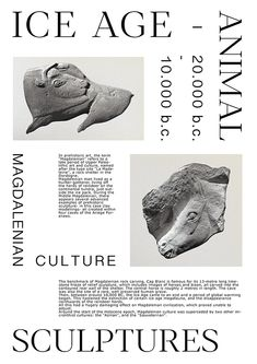 Ice Age Artefacts on Behance Art Design, Book Design, Layout Design, Graphic Design, Typography Design, Branding Design, Photo Images, Print Layout, Book Layout