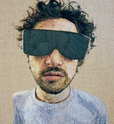 Los retratos bordados de Daniel Kornrumpf