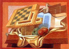 The Athenaeum - Basket and Siphon (Juan Gris - )