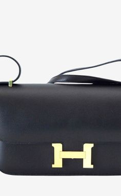 Hermès Black Shoulder Bag