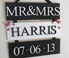 Wedding plaque - The Supermums Craft Fair