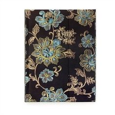 Midnight Blossoms Foldover Journal