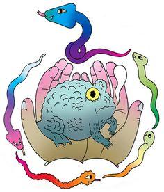 Jon Boam –more (cartoon) images @ http://www.juxtapoz.com/Illustration/jon-boam –#Illustration #Cartoon #Comic