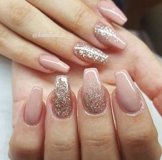 34 Quinceanera Nails Design Quinceaera Nails Nail Art Galerie - Famous Last Words Almond Acrylic Nails, Cute Acrylic Nails, Acrylic Nail Designs, Cute Nails, Pretty Nails, Nail Art Designs, Wedding Acrylic Nails, Gold Wedding Nails, Easy Nails