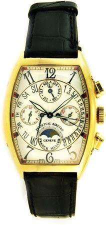 Franck Muller Cintree Curvex Chronograph Perpetual Calender