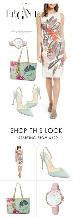 """""""dress"""" by masayuki4499 ❤ liked on Polyvore featuring Emerson Rose, Betsey Johnson, Spartina 449 and Kate Spade"""