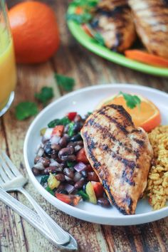 Grilled Citrus-Marinated Mexican Chicken | thewanderlustkitchen.com